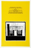Artist: JENYNS, Bob | Title: Exhibition poster: Bob Jenyns | Date: 1991 | Technique: offset-lithograph, printed in colour, from multiple plates
