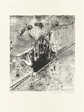 Artist: WILLIAMS, Fred | Title: Lal-Lal Falls | Date: 1977-78 | Technique: lithograph, printed in black ink, from one zinc plate | Copyright: © Fred Williams Estate