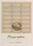 Artist: NEILSON, Janet | Title: Preservation | Date: 1999, February | Technique: etching, printed in colour, from two plates