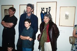 Title: Event | Gordon Bull (ANU), Roger Butler exhibition curator, Mirka Mora, and Ben and Jack Ennis Butler at the opening of 'The Europeans, Emigre artists in Australia 1930-1960'. Canberra: National Gallery of Australia, 1997. | Date: 1997