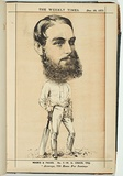 Title: W.G. Grace, Esq. | Date: 20 December 1873 | Technique: lithograph, printed in colour, from multiple stones