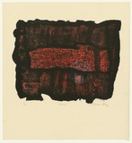 Artist: KING, Grahame | Title: Fossil | Date: 1968 | Technique: lithograph, printed in colour, from two stones [or plates]