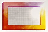 Artist: WICKS, Arthur | Title: Rainbow screen | Date: 1973 | Technique: screenprint, printed in colour, from multiple stencils