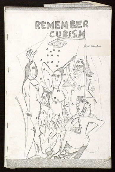 Remember cubism, no  3: from the series