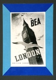 Artist: BAINBRIDGE, John | Title: BEA: London (Big Ben). | Date: (1948) | Technique: photo-lithograph