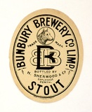 Title: Label: Bunbury Brewery Company Limited. Stout | Date: c.1920 | Technique: lithograph, printed in black ink, from one stone [or plate]