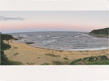 Artist: ROSE, David | Title: Bateau Bay - evening | Date: 1992 | Technique: screenprint, printed in colour, from multiple stencils