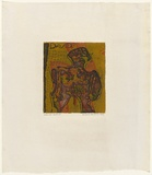Artist: HANRAHAN, Barbara | Title: Little man - David | Date: 1964 | Technique: etching, printed in colour from three  plates