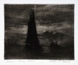 Artist: GLOVER, Allan | Title: Dawn | Date: 1929 | Technique: aquatint, printed in warm black ink, from one plate