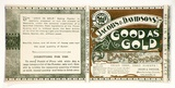 Artist: PERTH PRINTING WORKS | Title: Label: Jacobs and Davidsons'. Good as gold. Baking powder | Date: c.1920 | Technique: lithograph, printed in colour, from multiple stones [or plates]