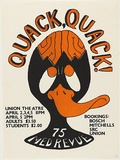 Artist: UNKNOWN | Title: Quack, quack 75 med revue | Date: 1975 | Technique: screenprint, printed in colour, from multiple stencils