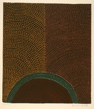 Artist: CHEREL, Butcher | Title: Galaroo (rainbow serpent) I | Date: 1998 | Technique: linocut, printed in colour, from five blocks