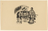 Artist: MISSINGHAM, Hal | Title: Chestnut seller | Date: c.1935 | Technique: lithograph, printed in black ink, from one stone [or plate]