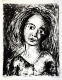 Artist: GRIEVE, Robert | Title: Ceylon child | Date: 1955 | Technique: lithograph, printed in black ink, from one stone