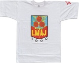 Artist: REDBACK GRAPHIX | Title: T-shirt: Imaj. | Date: 1980 | Technique: screenprint, printed in colour, from multiple stencils