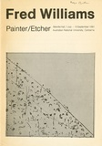<p>Fred Williams: Painter, Etcher. (Introduction by James Mollison.).</p>