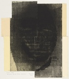 Artist: KY, Marine | Title: Name unknown | Date: 2000 | Technique: etching and aquatint, printed in black ink, from four plates