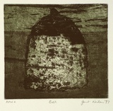 Artist: NEILSON, Janet | Title: Bell | Date: 1997 | Technique: etching and aquatint, printed in colour, from two plates