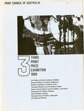Artist: PRINT COUNCIL OF AUSTRALIA | Title: Exhibition catalogue | 3, third print prize exhibition, 1969 [touring exhibition], Melbourne: Print Council of Australia, 1969 | Date: 1969