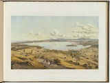 Artist: VON GUERARD, Eugene | Title: Lake Illawarra, New South Wales | Date: (1866 - 68) | Technique: lithograph, printed in colour, from multiple stones [or plates]