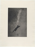 Artist: MADDOCK, Bea | Title: Fall | Date: 1976, November | Technique: photo-etching, aquatint and burnishing, printed in black ink, from one plate
