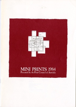 <p><span>Mini prints, 1984: Presented by the Print Council of Australia.</span></p>