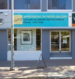 Artist: BUTLER, Roger | Title: Impressions on Paper gallery, Canberra | Date: 2006