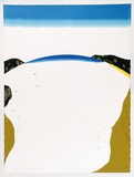 Artist: ROSE, David | Title: Bateau Bay I | Date: 1973 | Technique: screenprint, printed in colour, from multiple stencils