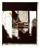 Artist: LETI, Bruno | Title: See thru window two | Date: 1976 | Technique: etching and aquatint, printed in colour, from multiple plates