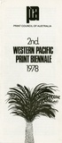 Artist: PRINT COUNCIL OF AUSTRALIA | Title: Entry form | 2nd Western Pacific print biennale 1978. Print Council of Australia, 1978 | Date: 1978