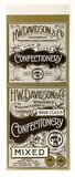 Title: Label: H.W. Davidson & Company. Confectionery | Date: c.1920 | Technique: lithograph, printed in colour, from multiple stones [or plates]