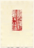 Artist: DUNN, Richard | Title: 100 Blossoms: Five prisons II. | Date: 1988 | Technique: etching and lift-ground aquatint and screenprint