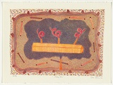 Artist: BOWEN, Dean | Title: Factory icon | Date: 1989 | Technique: lithograph, printed in colour, from multiple stones