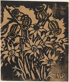 Artist: PRESTON, Margaret | Title: Flowers | Date: 1946 | Technique: screenprint, printed in black ink, from one stencil | Copyright: © Margaret Preston. Licensed by VISCOPY, Australia