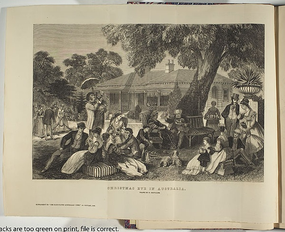 Christmas In Australia Date.Christmas Eve In Australia 1868 01 January 1868 By