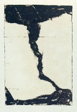 Artist: ROBERTS, Neil | Title: Lahar 1 | Date: 1991 | Technique: pigment-transfer, printed in brown ink, from one bitumen paper plate