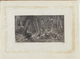 Artist: TURNER, Charles | Title: Babes in the wood | Date: 1882 | Technique: etching, printed in black, from one plate