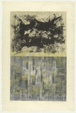 Artist: KING, Grahame | Title: The cloud | Date: 1966 | Technique: lithograph, printed in colour, from multiple stones [or plates]