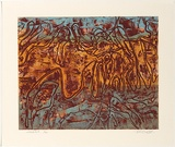Title: Habitat | Date: 1978 | Technique: collagraph, printed in colour, from multiple plates