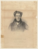 Title: G.A. Robinson Esq. | Date: 1850s | Technique: lithograph, printed in black ink, from one stone