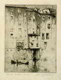 Artist: GOODCHILD, John | Title: Banks of Arno | Date: 1932 | Technique: etching, printed in black ink, from one plate