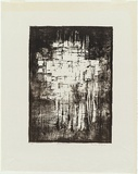 Artist: KING, Grahame | Title: Rain Spirit I. | Date: 1962 | Technique: lithograph, printed in black ink, from one plate
