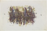 Artist: GRIEVE, Robert | Title: Landscape | Date: 1959 | Technique: lithograph, printed in colour, from three stones
