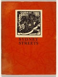 Artist: PRESTON, Margaret | Title: Bridge Street. | Date: 1925 | Technique: wood-engraving, printed in black ink, from one block | Copyright: © Margaret Preston. Licensed by VISCOPY, Australia