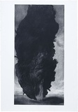 Artist: JOHNSTONE, Ruth | Title: Cypress II | Date: 1986, January | Technique: aquatint, printed in black ink, from one plate