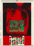 Artist: KILLEN, Virginia | Title: February | Date: 1984 | Technique: screenprint, printed in colour, from multiple stencils