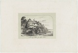 Artist: TERRY, F.C. | Title: Landing place of Captain Cook | Date: c.1850 | Technique: photo-lithograph, printed in colour, from multiple stones