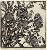 Artist: PRESTON, Margaret | Title: Banksia cobs | Date: 1933 | Technique: woodcut, printed in black ink, from one block | Copyright: © Margaret Preston. Licensed by VISCOPY, Australia