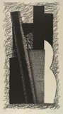 Artist: LINCOLN, Kevin | Title: Guitar | Date: 1985 | Technique: lithograph, printed in black ink, from one stone