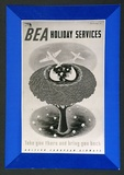 Artist: BAINBRIDGE, John | Title: BEA holiday services. | Date: 1948 | Technique: photo-lithograph